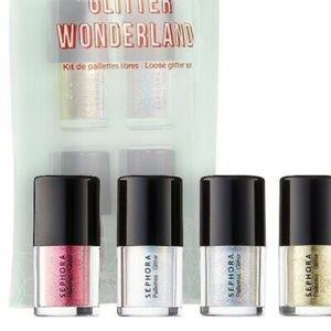 NWT Sephora glitter wonderland set